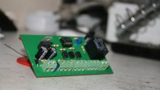 3 sensörlü kontrol kartı
