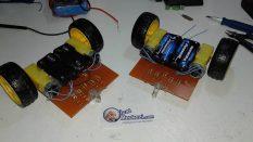 Işık izleyen robot projesi