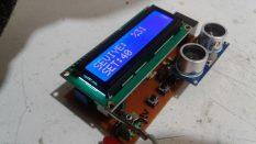 Ultrasonik sensör ile sıvı seviye ölçümü