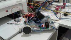 Yangın söndüren robot projesi
