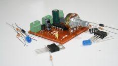 opamp ile karşılaştırıcı kontrol kartı